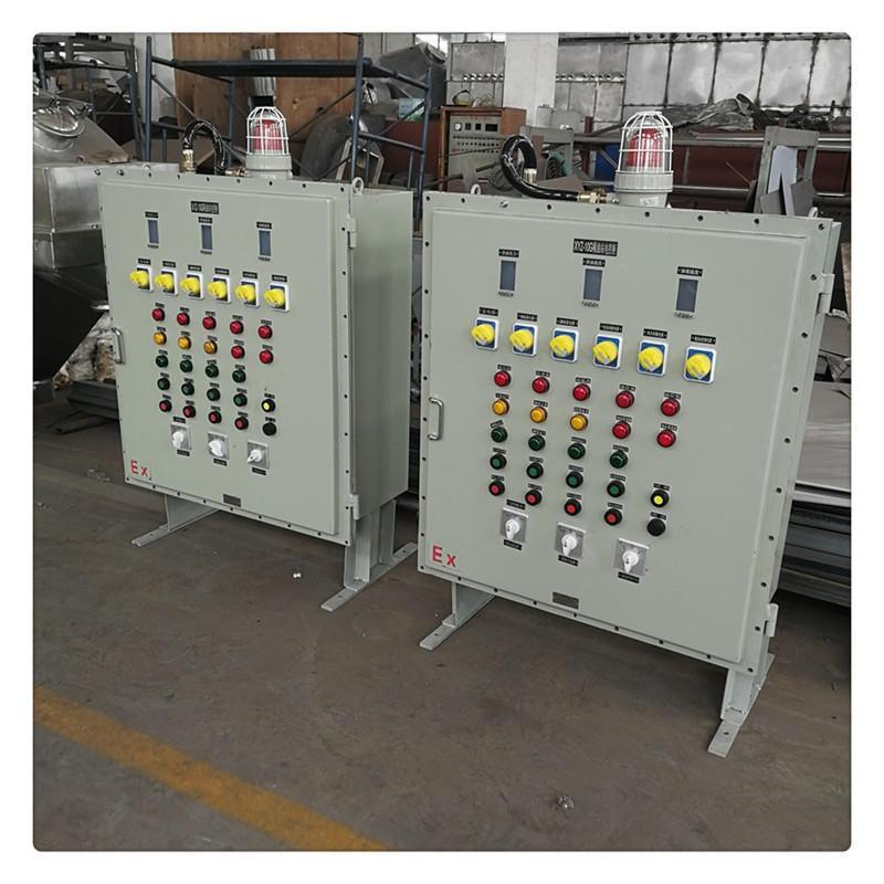 稀油站配件不銹鋼電控柜  防爆電控柜供應廠家 常州魯潤潤滑設備