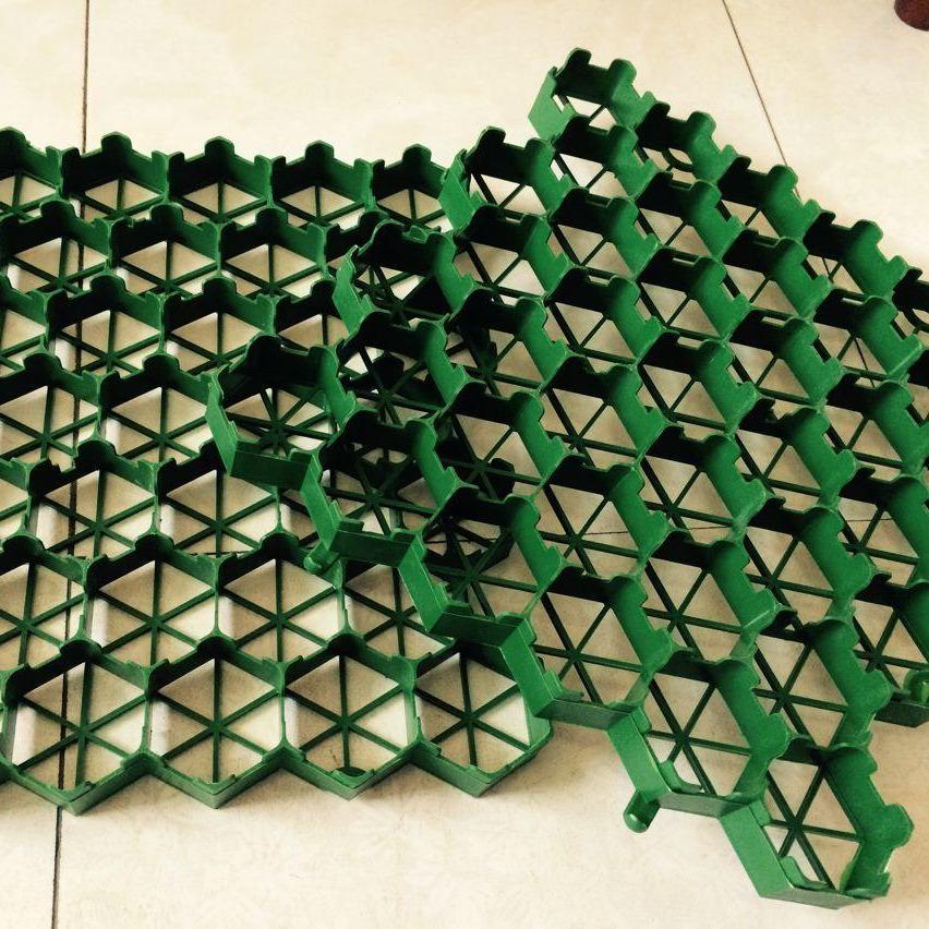 山东泰安植草格北京直供 7公分、5公分、4公分塑料植草格 停车场专用 消防通道专用