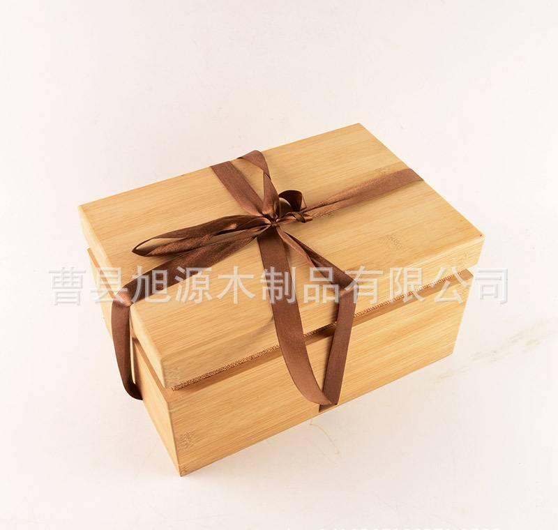 精致创意茶叶包装茶叶木盒定做 竹木茶叶包装盒高档茶叶礼盒图片