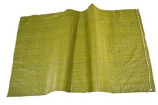 黄色编织袋厂特价80斤粮食袋普黄色蛇皮袋中厚结实塑料编织袋批发示例图4
