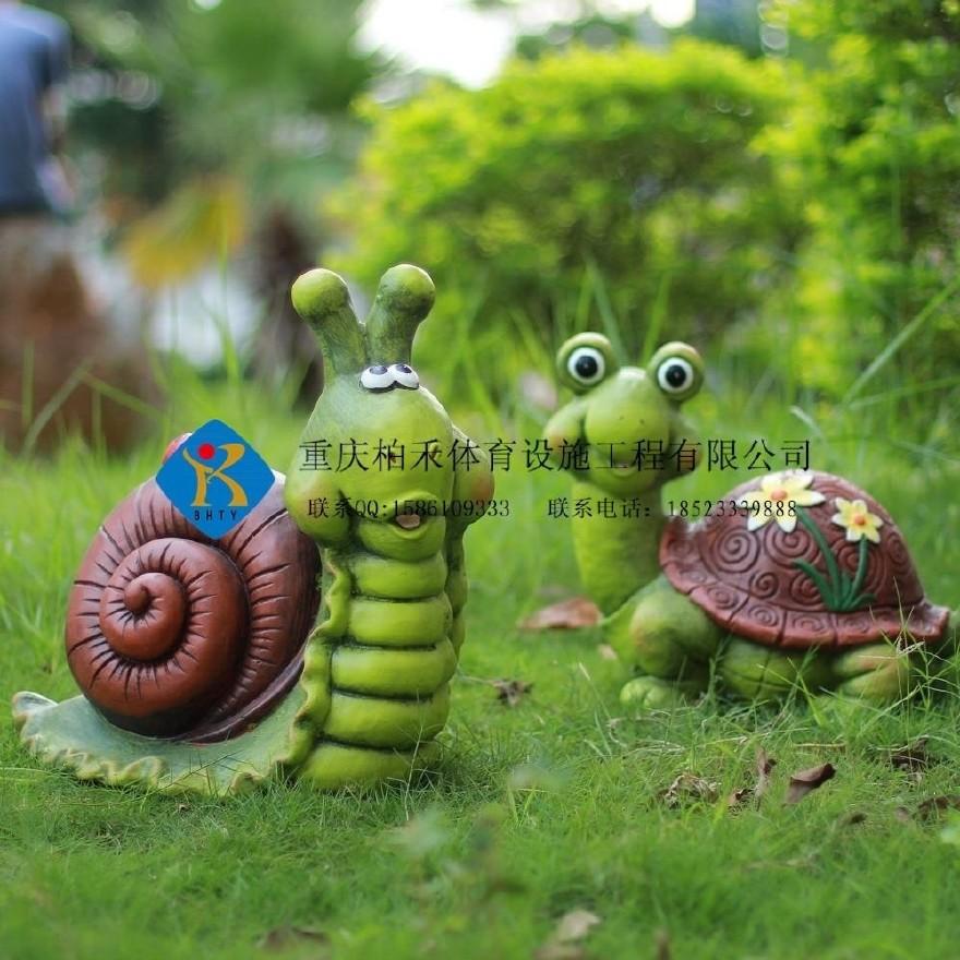 树脂工艺品创意乌龟青蛙写诗摆件户外花园林景观卡通庭院花园动物蜗牛装饰优质课教学设计图片