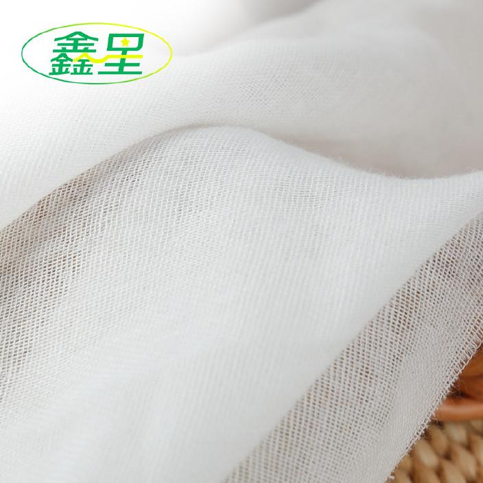 山东鑫星纺织现货 双层纱布棉坯布 纯棉服装面料棉布 婴儿布料图片