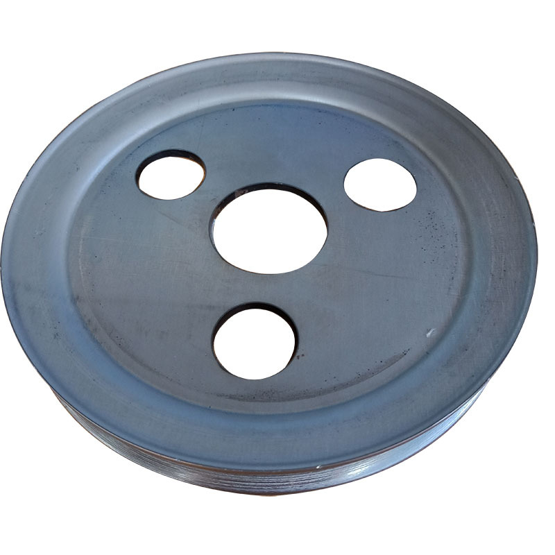 食品机械专用单槽劈开式V型皮带轮尺寸精准外观精致示例图2