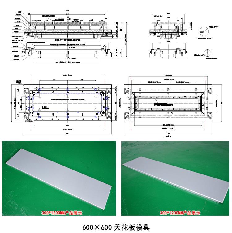 天花板模具    乐生模具  模具加工示例图4