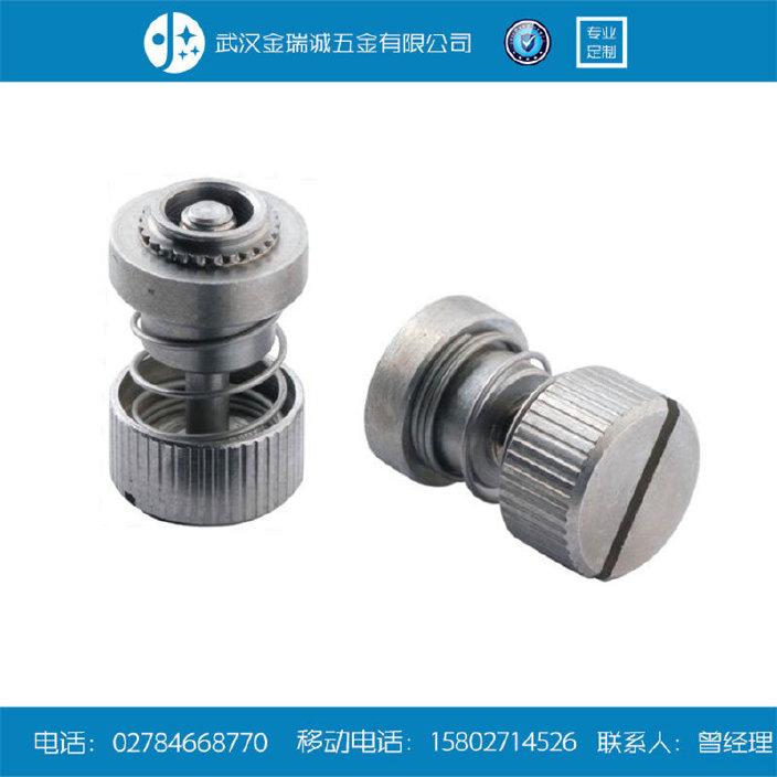 厂家现货供应松不脱螺钉 机柜面板组合螺丝 弹簧压铆螺