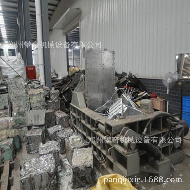 推荐铁屑金属压块机废钢压块成型机全自动液压金属打包机示例图4
