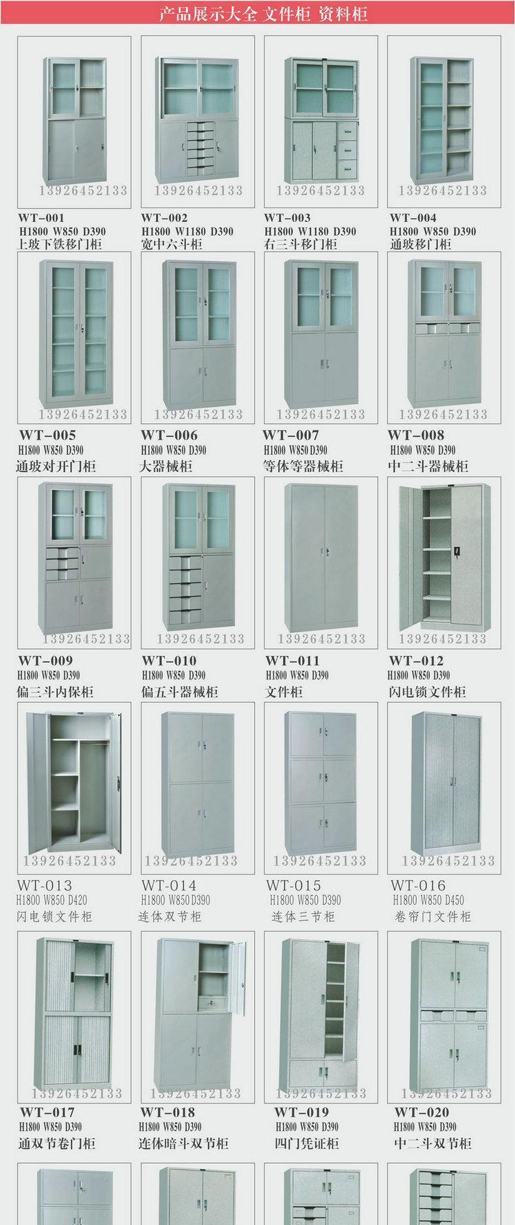 广州 文件柜 铁皮文件柜 办公文件柜 等体器械柜 工厂批发 热销示例图4