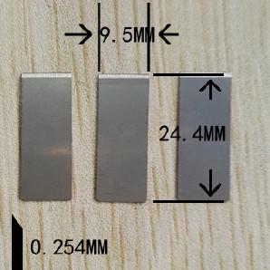 厂家生产切线刀片,缝纫机刀片,学生小刀