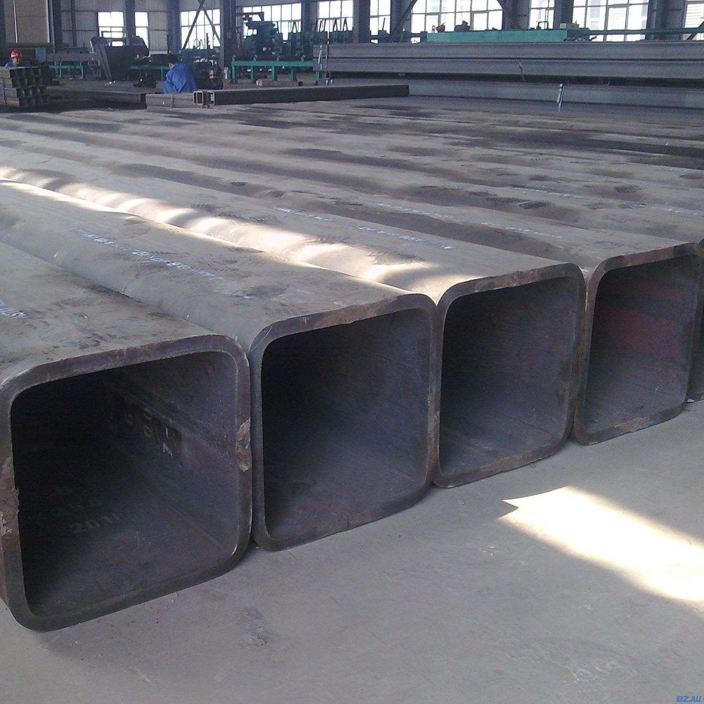 新時達供應Q235無縫方管 16mn無縫方管 大口徑厚壁方管 定做任意尺寸無縫方矩管