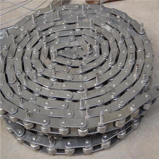 专业生产不锈钢链条带附件、非标链条生产加工,价格低三胜
