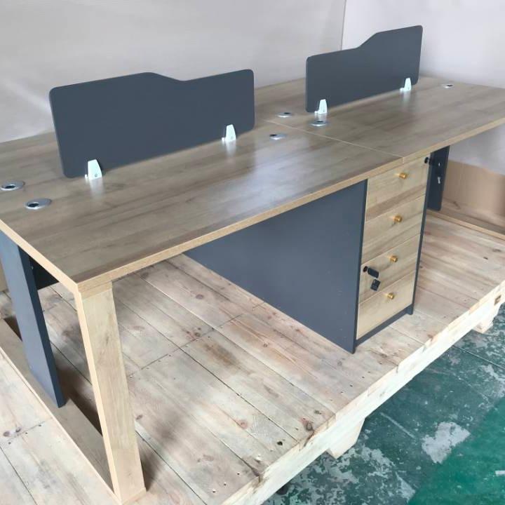 欣鹏城欣现代办公家具开放办公桌图片