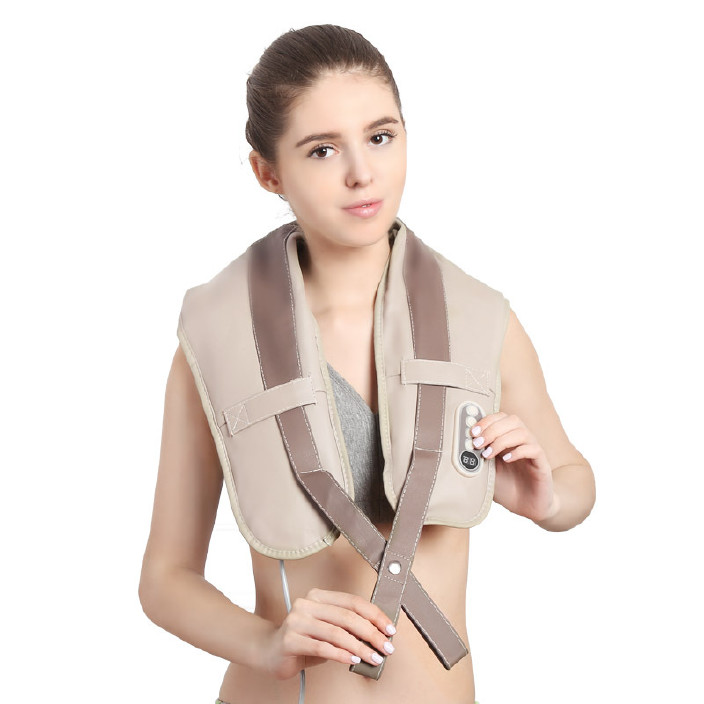 按摩披肩捶打颈部肩部多功能披肩腰部腿部一件代发捶打披肩按摩枕
