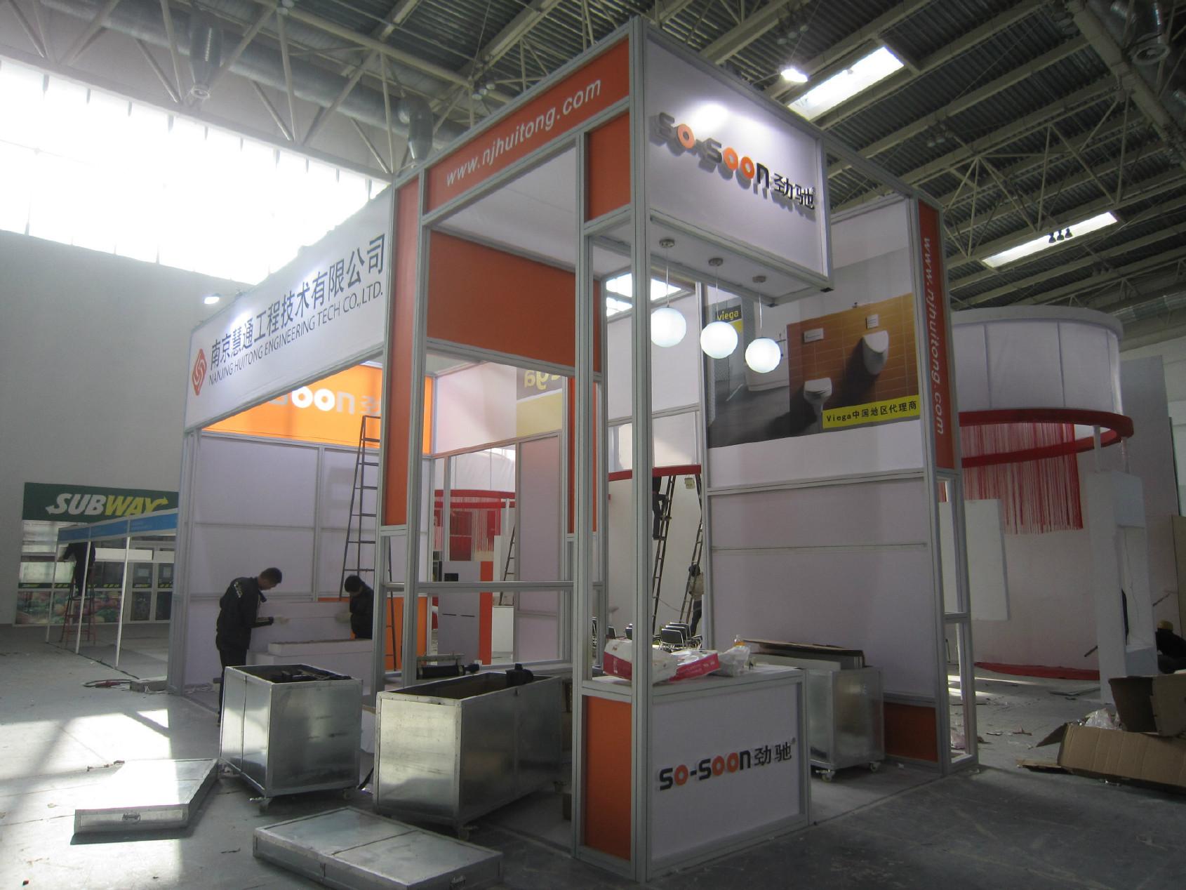 北京方铝展台租赁 铝料方柱搭建工厂 展览铝型材展位制作销售