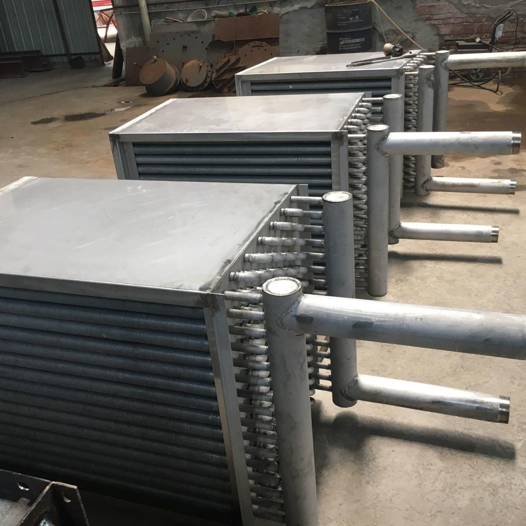 供应空气换热器  钢铝翅片管换热器  蒸汽换热器  翅片管板式散热器