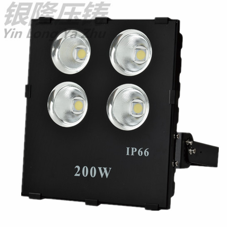 新款仿超高品质 LED大功率200W聚光投光灯外壳