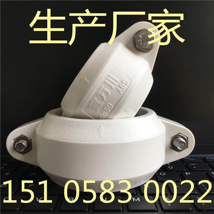 兰州HDPE沟槽式超静音排水管,宜万川厂家,HDPE沟槽排水管示例图2