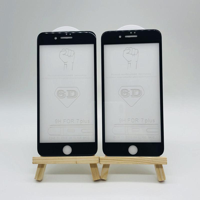 6/7/8防爆玻璃膜   苹果iPhone X全屏6D钢化膜   8plus钢化膜批发