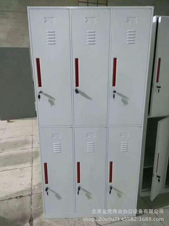 批发办公档案铁皮文件柜钢制玻璃对开门文件柜订做各种规格尺寸