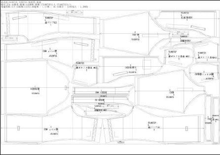 转换命令CAD纸样gmt格式为DXF服装cad反应输入文件没图片