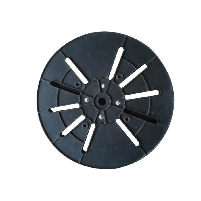 现货批发450型塑胶端子盘 电子端子收放料盘 圆盘收料盘定制图片