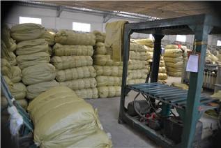 PP编织袋筒料生产厂家直销黄色半成品布卷 开边编织布可加工定做示例图17