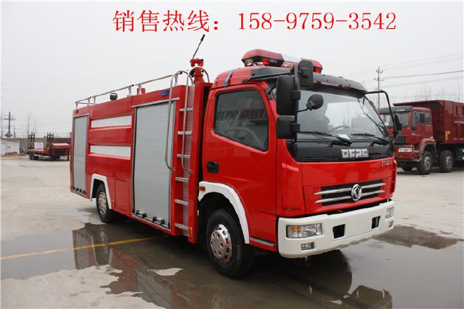 潜江五十铃举高喷射消防车,抢险救援消防车图片