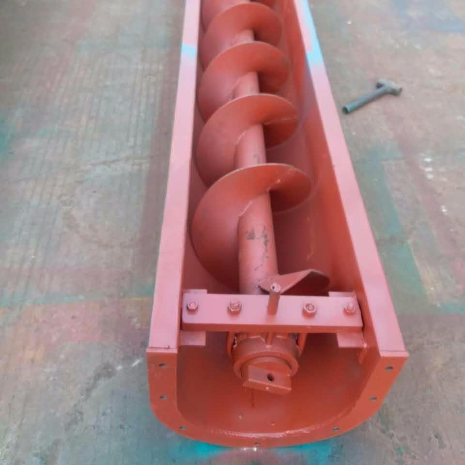 工業粉塵處理設備 每家擁有除塵器設備必備的輸送設備 科信廠家定制供應 螺旋輸送設備
