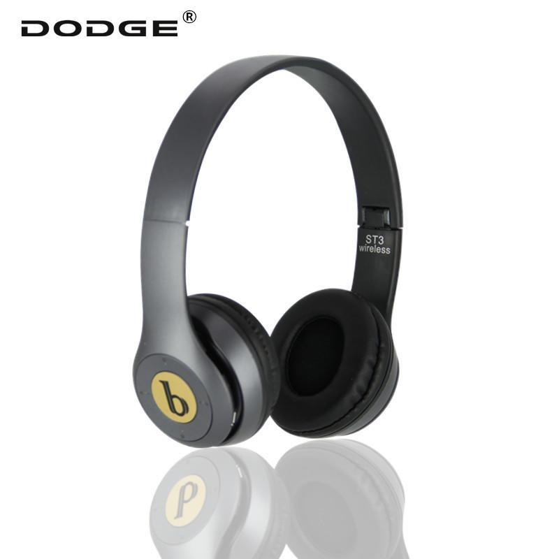 DODGE 无线蓝牙耳机 vivo 华为 oppo小米苹果手机通用 可插卡带收音机折叠重低音立体声solo 耳机厂家直销