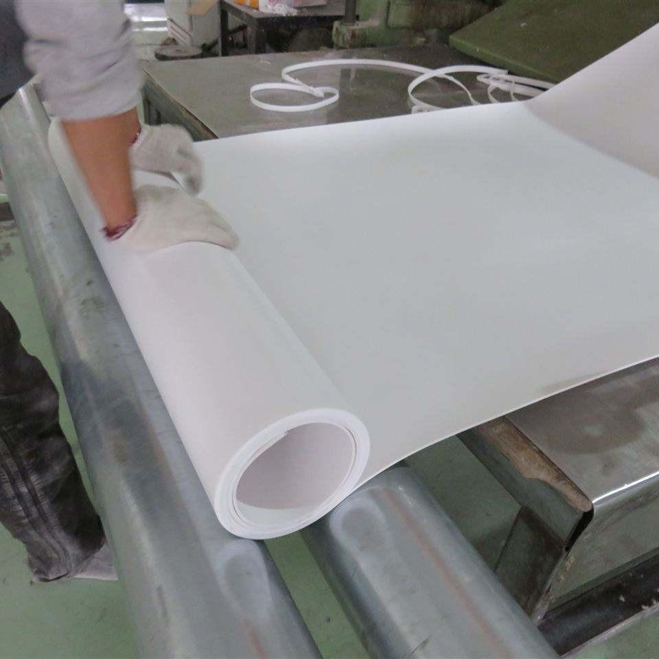 5mm聚四氟乙烯板  膨體聚四氟乙烯板價格廠家   建筑樓梯專用聚四氟乙烯板
