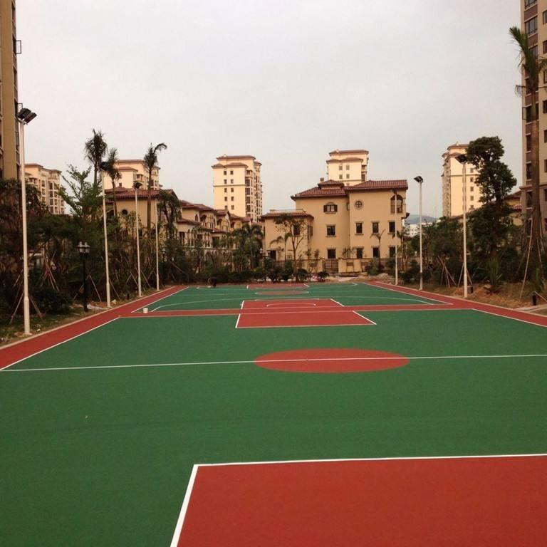 江蘇硅PU球場材料 硅PU籃球場 硅PU球場施工 硅PU球場預算 硅PU網球場 硅PU球場性能