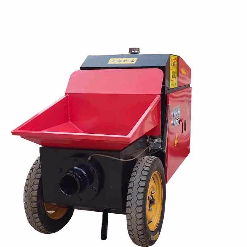 河北旺奥 模块建房输送泵 WA-15kw保暖层回填细石浇筑泵 混凝土输送设备厂家 二次结构水泥砂浆上料机