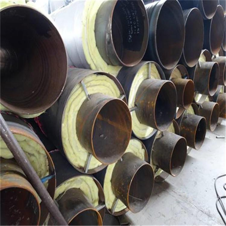 华夏洲际 108 钢套钢直埋蒸汽管道 钢套钢直埋蒸汽保温钢管  直埋钢套钢管  价格