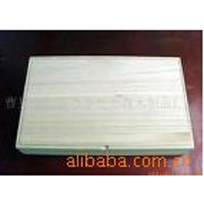 定制松木原色雕刻首饰包装木盒 天然环保木材礼品盒子