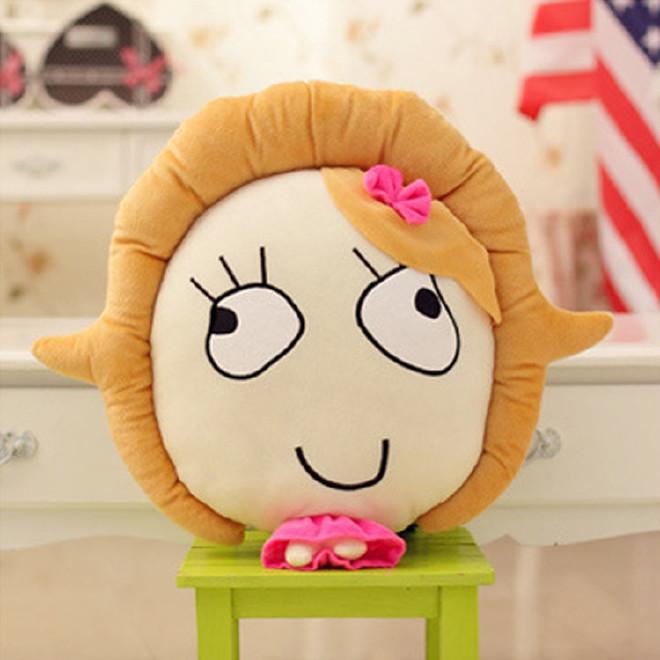 【暴走漫画表情王尼玛王尼美搞笑表情索尼抱枕子周边包创意图片