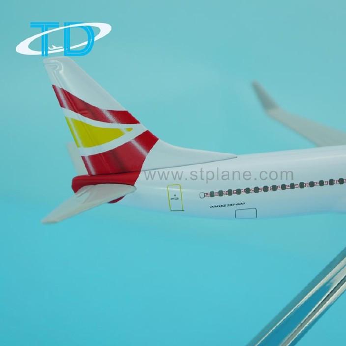 图纸工艺品祥鹏B737-800波音金属飞机模型静航空地铁施工建设合肥图片
