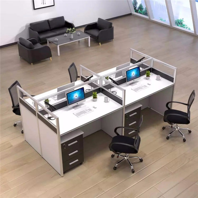 廣西南寧辦公家具 辦公桌 屏風工位電腦桌 簡約辦公卡座優質廠家直銷