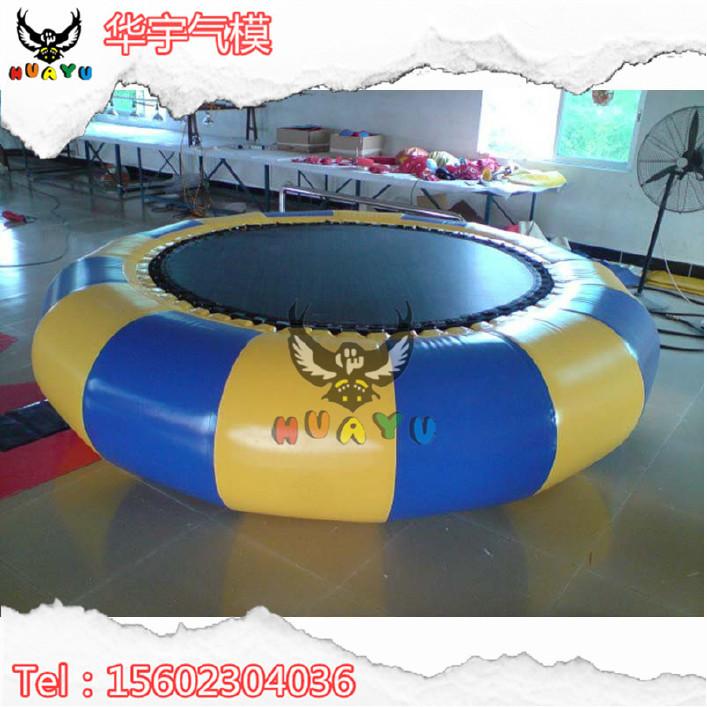 水上彈跳床水上樂園趣味玩具兒童百萬海洋球池蹦床廠家定制