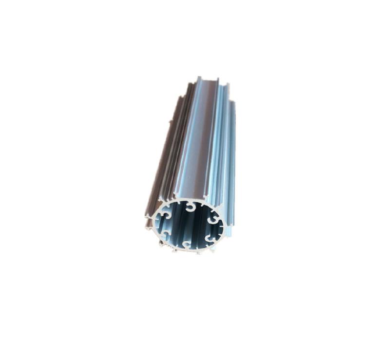 廠家直銷6063橢圓燈管套件分體卡扣外殼led日光燈管配件圖片