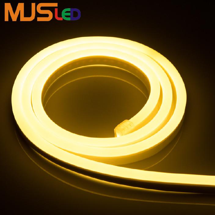 厂家直销220v高压led柔性灯带 led霓虹软灯条户外工程高压跑马灯