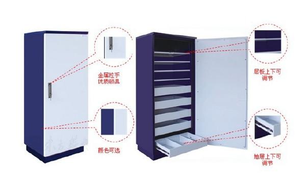 档案防磁柜音像光碟CD防磁柜厂家1小时防磁柜示例图4