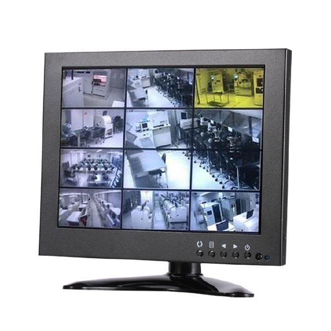 7寸液晶工业监视器 BNC监视器 铁壳监视器 高清安防监控设备