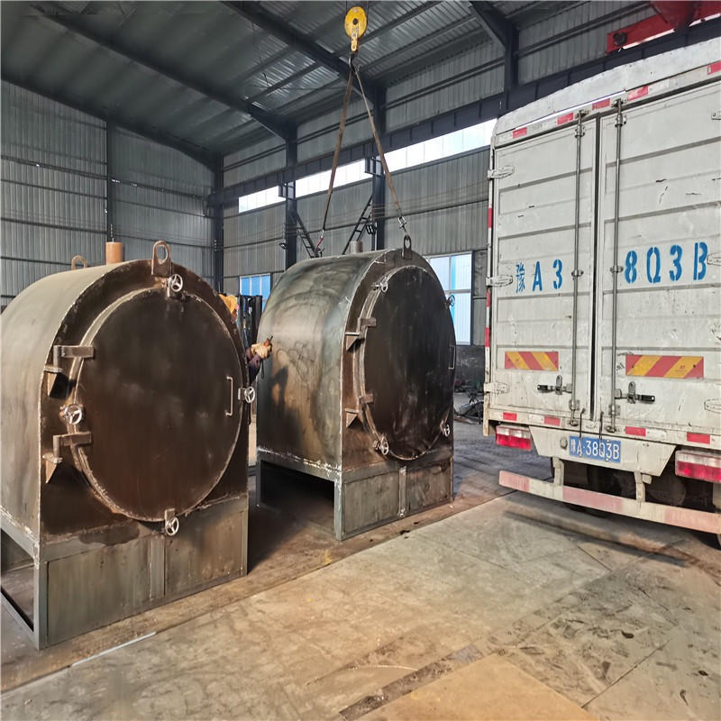 取暖木材木炭炭化机碳化炉 小型卧式木炭连续炭化炉设备厂家直销