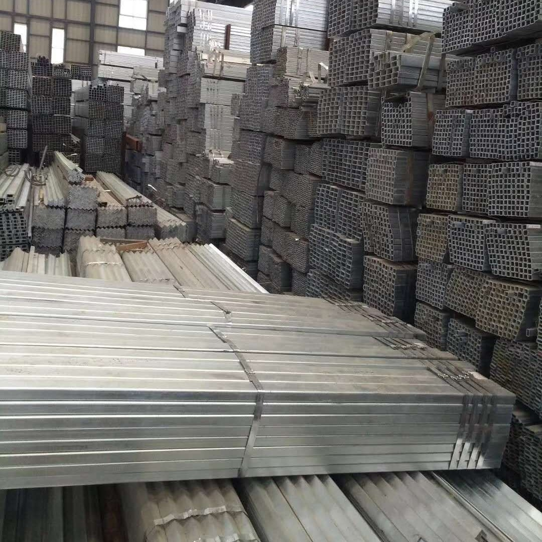 鍍鋅方管廠家,鋼管建材鍍鋅方管價格,云南昆明鍍鋅方管規格廠家直銷