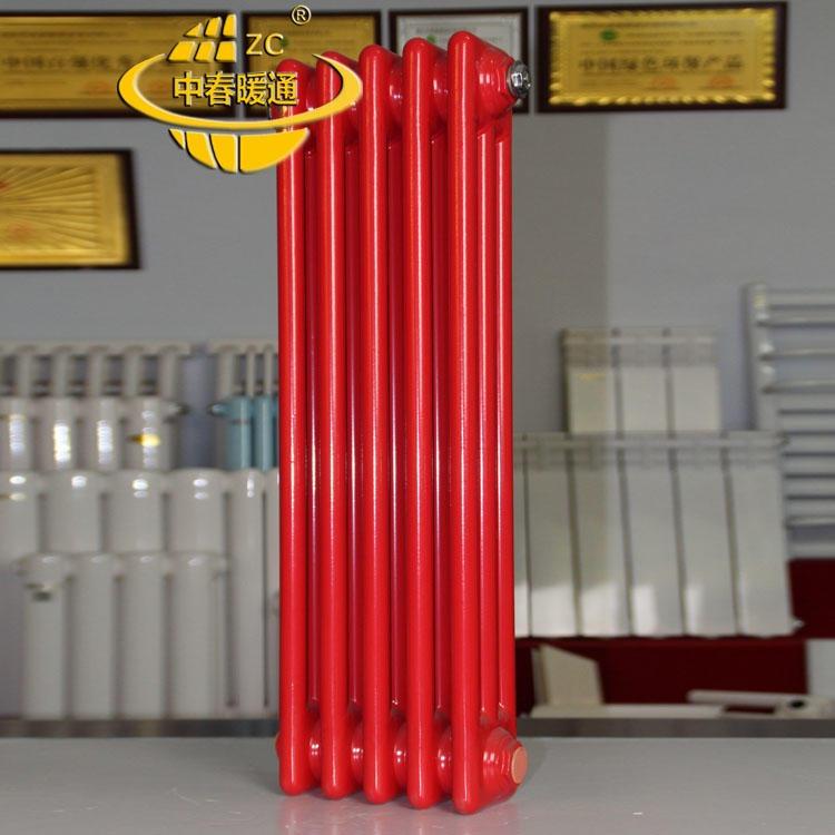 鋼三柱散熱器批發、鋼三柱散熱器供應,鋼三柱暖氣片價格,QFGZ318暖氣片