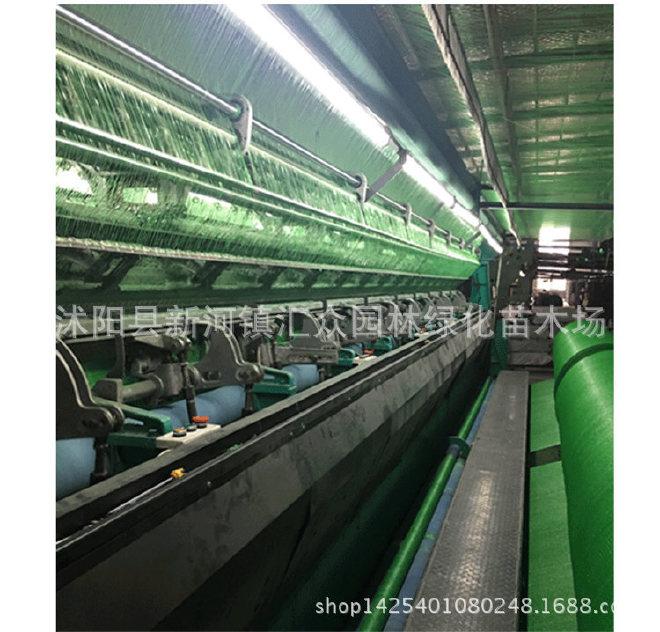 厂家直销6针黑色遮阳网 农用大棚汽车遮阴网防晒网 蓝绿色遮阳网示例图9
