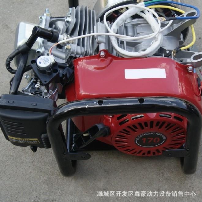电动车充电汽油发电机 内置式车载电动车增程器72v4kw变频批发