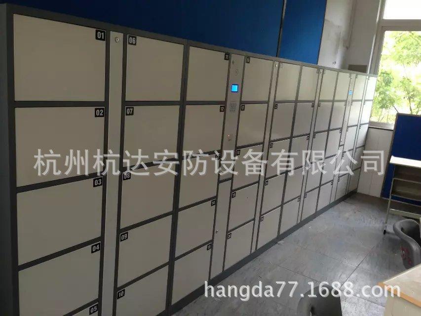 公司刷卡联网电子更衣柜杭州第九中学校联网书包柜储物柜示例图2