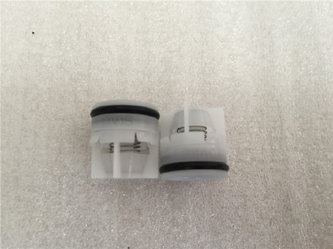 厂家直销 奥美水表花洒水暖塑料止回阀芯单向阀 逆止阀ov15mm图片