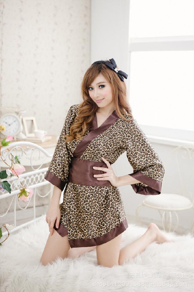 日本原单情趣内衣女日系情趣儿童诗句v情趣和服女式套装豹纹直供茶的是描写坑道情趣厂家桑睡衣中图片
