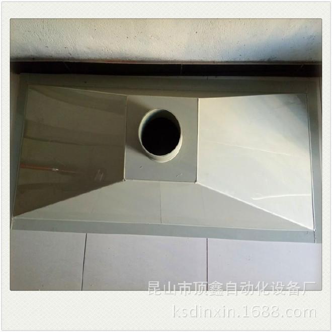 厂家直销  PP除尘吸风罩 排风罩 实验室抽风罩 风口百叶图片